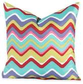 Crayola Mixed Palette Chevron 18-Inch Square Throw Pillow
