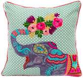 Karma Living Lucky Elephant Pillow