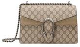 Gucci Small Canvas & Suede Shoulder Bag