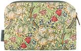 Heathcote & Ivory Morris & Co Golden Lily Small Cosmetics Bag