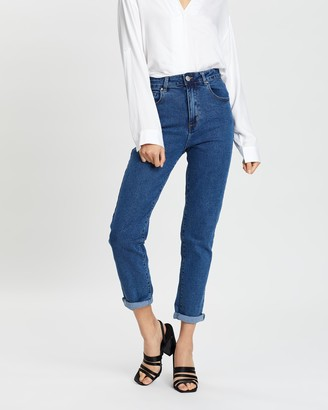 Cotton On High-Rise 90s Stretch Mom Jeans