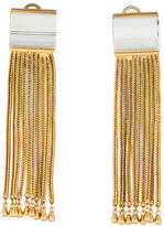 Rachel Zoe Crystal Tassel Earrings