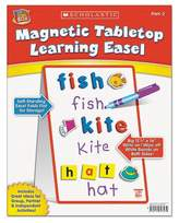 Scholastic Magnetic Tabletop Learning EaselAges 4-7