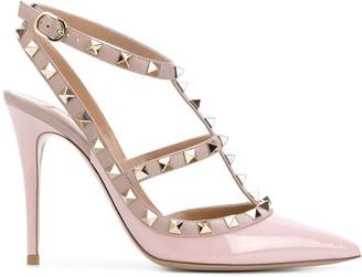 Valentino studded T-strap pumps