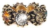 Gucci Crystal-embellished ring
