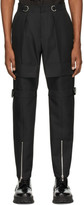 we11done Black Pocket Trousers