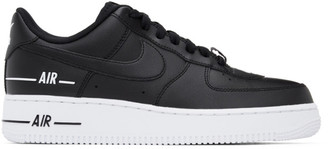 Nike Black Air Force 1 07 LV8 3 Sneakers