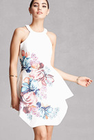 Forever 21 FOREVER 21+ Selfie Leslie Floral Mini Dress