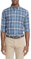 Paul & Shark Plaid Flannel Sport Shirt