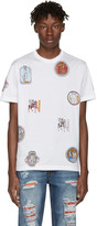 Versace White Greek Patch T-Shirt
