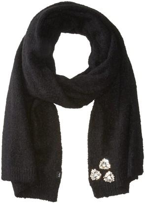 Echo Women's Star Pin Knit Winter Scarf