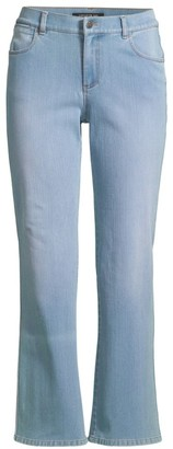 Lafayette 148 New York Mercer Cropped Flare Jeans