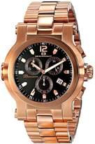 Oceanaut Men's 50mm Rose Gold-Tone Steel Bracelet & Case Quartz Watch Oc0827
