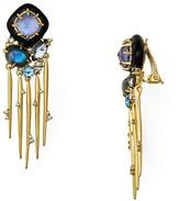 Alexis Bittar Satellite Spike Tassel Clip-On Earrings