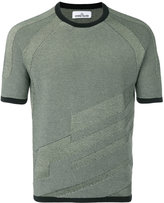 Stone Island knitted T-shirt - men - Cotton - S