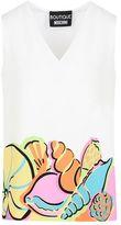 Moschino OFFICIAL STORE Sleeveless shirt