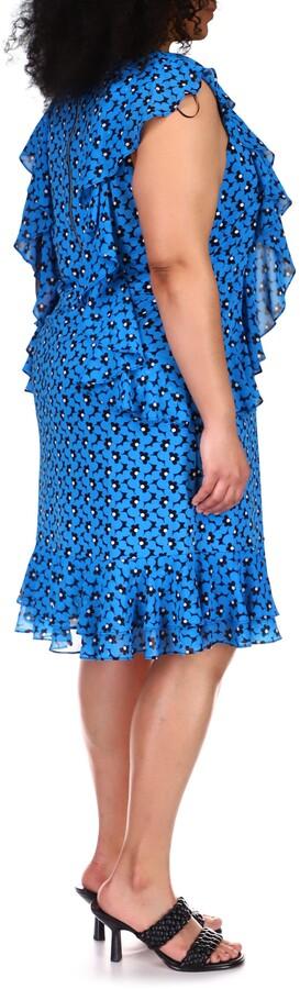 Thumbnail for your product : MICHAEL Michael Kors Floral Cascade Dress