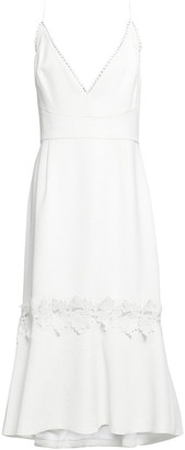 Nicholas Crepe Midi Dress