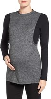 Women's Lab40 'Brie' Colorblock Maternity/nursing Sweater