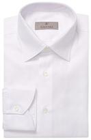 Canali Herringbone Dress Shirt