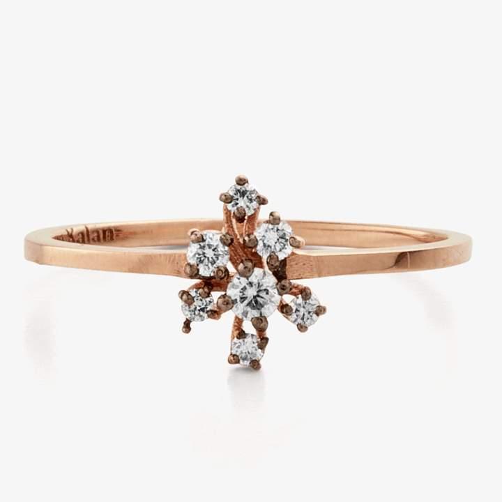Suzanne Kalan Starburst Diamond Cluster Ring