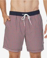 "Nautica Men's Geo-Print 6 1/2"" Swim Trunks"