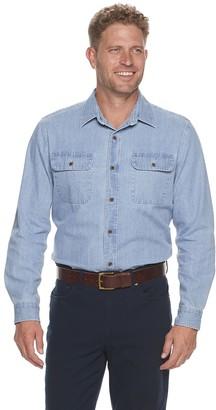 Croft & Barrow Men's Cotton Denim Button-Down