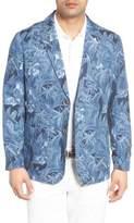Tommy Bahama Men's Oasis Blooms Regular Fit Silk & Linen Blazer