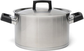Berghoff Ron Covered Stockpot - Silver/Black International