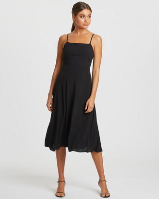 Damsel + Silk Core Full Midi Dress