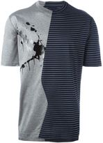 Lanvin ink striped T-shirt