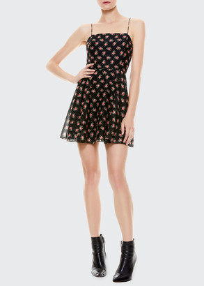 Alice + Olivia Glinda Spaghetti Strap Dress