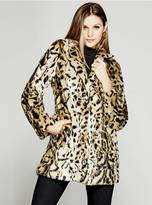 GUESS Leandra Faux-Fur Coat