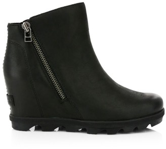 Sorel Joan Wedge Zip Waterproof Boots