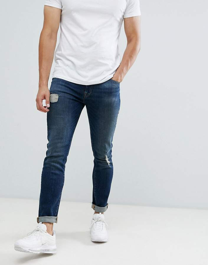 f4bc62eb Asos Men's Distressed Jeans - ShopStyle
