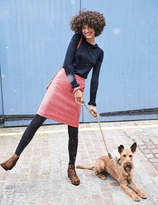 Boden British Tweed Mini Skirt