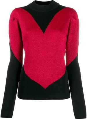 GCDS Heart Knitted Sweater