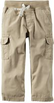 Carter's Boys 4-8 Ribbed Waist Cargo Pants