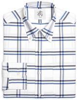 Brooks Brothers Windowpane Oxford Button-Down Shirt