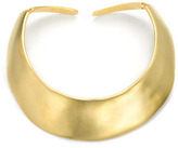 Satin Gold Hinged Collar