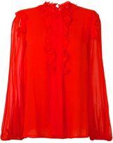 Giambattista Valli ruffle detail blouse