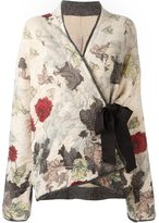 Antonio Marras wrapped kimono style cardigan