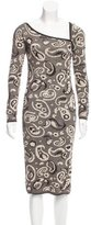 M Missoni Paisley Patterned Sheath Dress