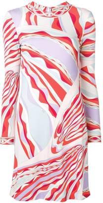 Emilio Pucci Burle Print Mini Dress