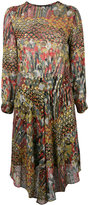 Zadig & Voltaire Roumi dress - women - Silk/Polyester/Spandex/Elastane/Metallic Fibre - M