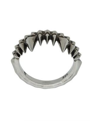 Kasun London Crocodile Bite ring