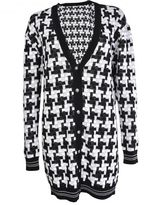 Versus Studded Woven Cardigan