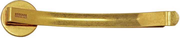Thumbnail for your product : Versace Gold Medusa Coin Barrette