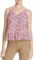 Rebecca Minkoff Lisette Ruffled Floral Print Top - 100% Exclusive