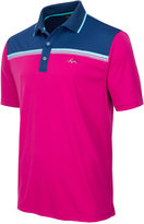 Greg Norman For Tasso Elba Men's Colorblocked Performance Polo, Only at Macy's